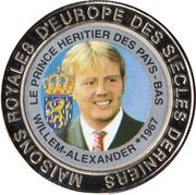 5 Francs (The Netherlands - Prince Willem-Alexander) – reverse