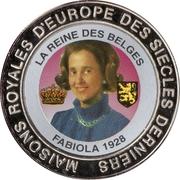 5 Francs (Belgium - Queen Fabiola) – reverse