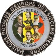5 Francs (Belgium - Kings of Belgium) – reverse