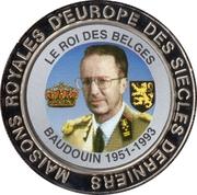 5 Francs (Belgium - King Baudouin) – reverse