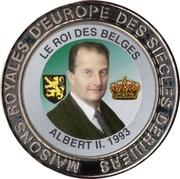 5 Francs (Belgium - King Albert II) – reverse