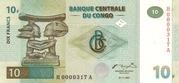 10 Francs -  obverse