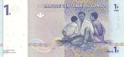 1 Francs -  reverse