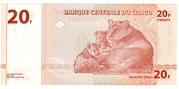 20 Francs -  reverse