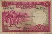 10 Francs (TROISIEME EMISSION) – obverse