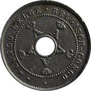 5 Centimes - Albert I – obverse