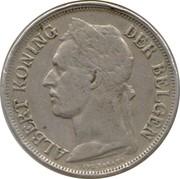 1 Franc - Albert I (Dutch text) – obverse