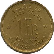 1 Franc - Léopold III -  obverse