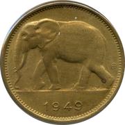 1 Franc - Léopold III -  reverse