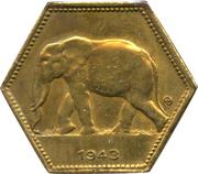 2 Francs - Léopold III – reverse