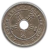 5 Centimes - Léopold II – obverse