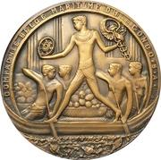Medal - Maiden voyage of the Albertville – obverse