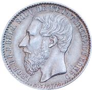 1 Franc - Léopold II – obverse