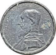 5 Francs - Léopold II (Trial Strike) – obverse