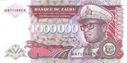 1 000 000 Zaires -  obverse