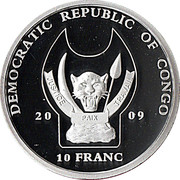 10 Franc (Dromedary) – obverse