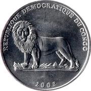 50 Centimes (Gorilla) – obverse