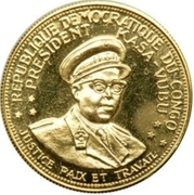 20 Francs (5th Anniversary of independence) – obverse