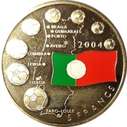 5 Francs (European Football Championship 2014) – reverse