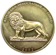 5 Francs (FIFA World Cup 2002) – obverse