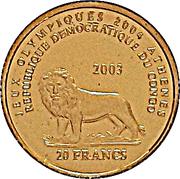 20 Francs (Athenian Owl) -  obverse