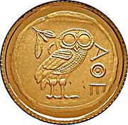 20 Francs (Athenian Owl) -  reverse