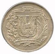 1 Peso (Annivesary of The Trujillo Era) – obverse