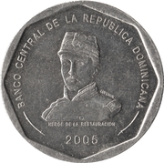 25 Pesos -  obverse