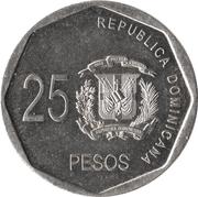 25 Pesos -  reverse