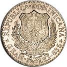 50 Centesimos de Franco – obverse