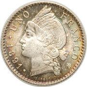 1 Franco – reverse