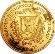 250 Pesos (Visit of John Paul II) -  reverse