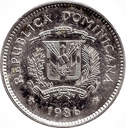 10 Centavos (Duarte) -  obverse