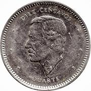 10 Centavos (Duarte) -  reverse