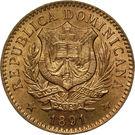 5 Centesimos de Franco – obverse
