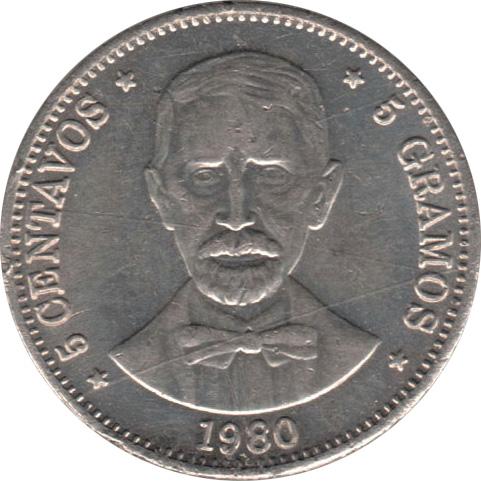 5 gramos coin