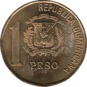 1 Peso (non-magnetic) -  obverse