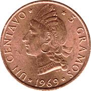 1 Centavo (FAO) – reverse