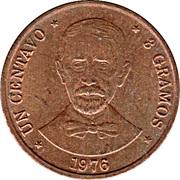 1 Centavo (Juan Pablo Duarte) – reverse