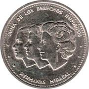 25 Centavos (Mirabal Sisters) -  reverse