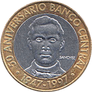 5 Pesos (Central Bank) -  obverse