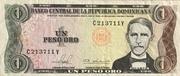 1 Peso Oro -  obverse