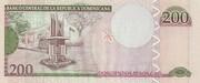 200 Pesos Oro -  reverse