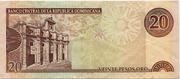 20 Pesos Oro -  reverse