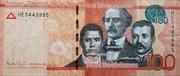 100 Pesos Dominicanos -  obverse