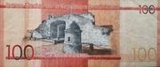 100 Pesos Dominicanos -  reverse