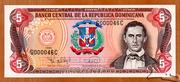 5 Pesos Oro -  obverse