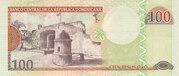 100 Pesos Oro -  reverse