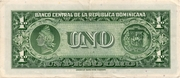 1 Peso Oro -  reverse