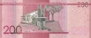 200 Pesos Dominicanos – reverse